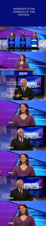 Jeopardy love